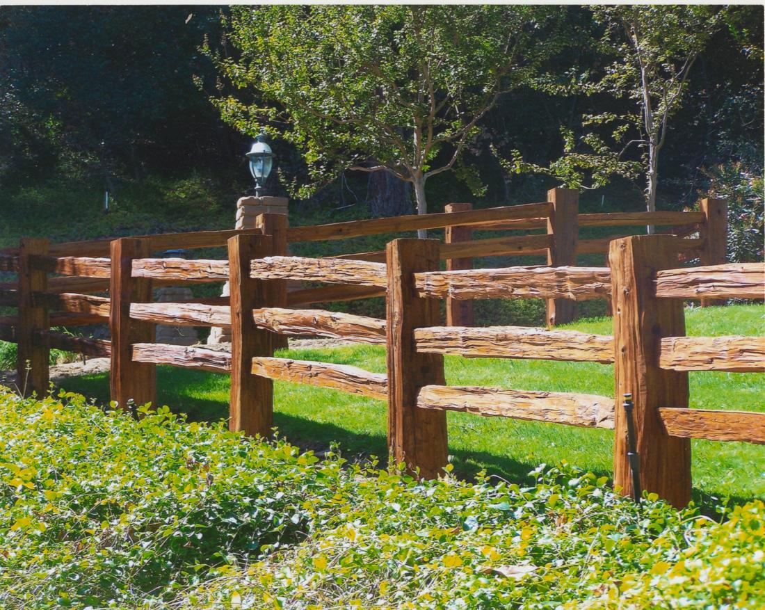 Wood Split Rail Fence Posts Fence Ideas Site