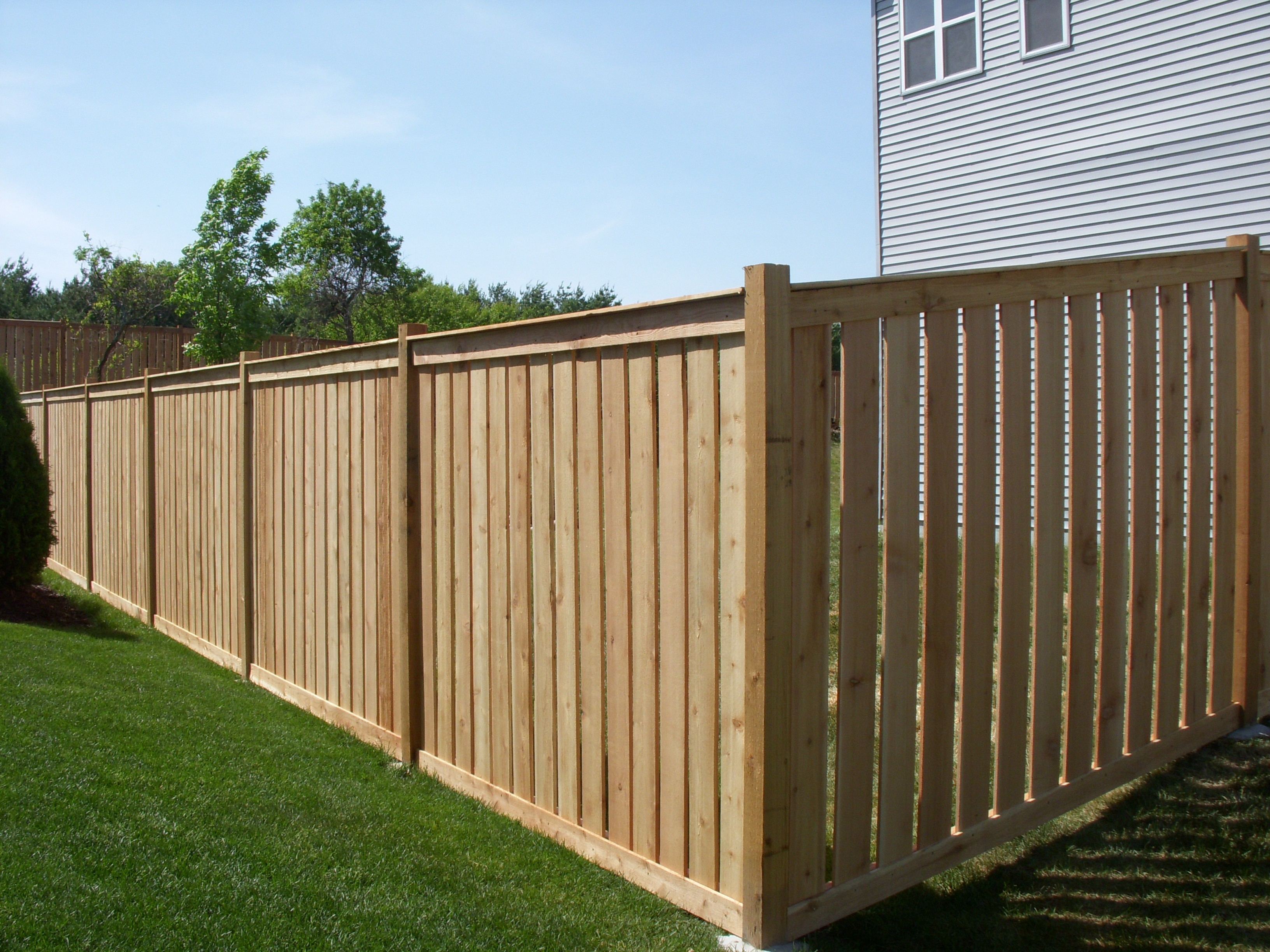40 Beautiful Pics Of 6 Foot Wood Fence Best Fence Gallery regarding sizing 3264 X 2448