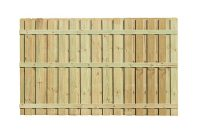 6 Ft H X 8 Ft W Pressure Treated Pine Board On Board Fence Panel regarding measurements 1000 X 1000