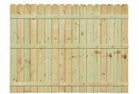 6 Ft H X 8 Ft W Pressure Treated Pine Dog Ear Fence Panel 158083 with regard to measurements 1000 X 1000