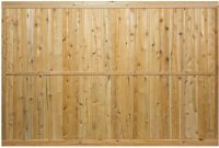 6 High Privacy Panel 1x5 Tongue Groove Boards Wood Fences with size 1199 X 803