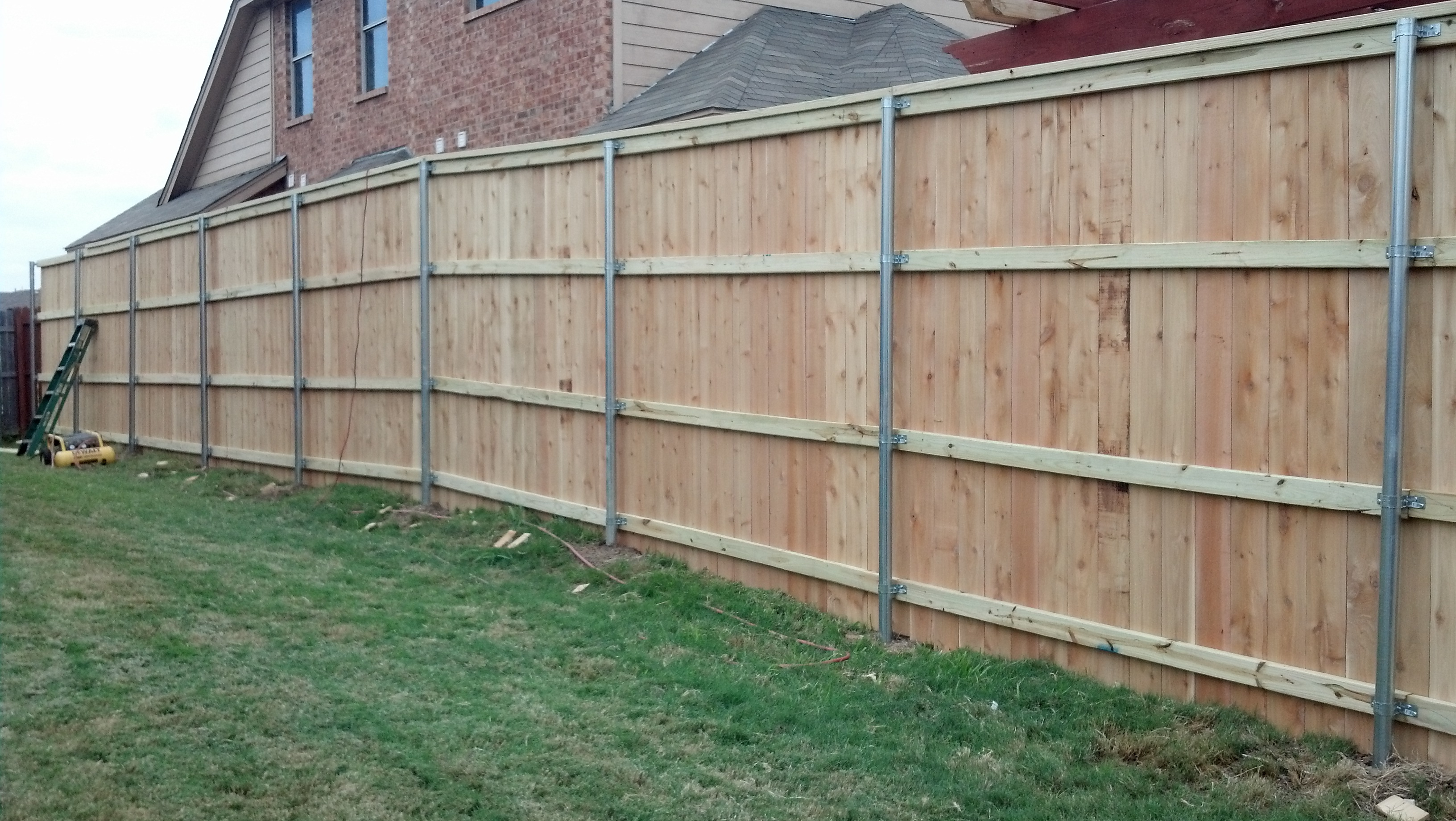 8 Foot Tall Fence Pickets Best Fence 2018 In Dimensions