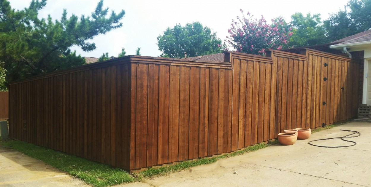 8 Ft Board On Board Cedar Fence Lifetime Fence Wood Privacy Fences within dimensions 1250 X 631