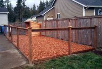 After The Finished Dog Kennel Includes A Steel Fence With Pressure pertaining to size 1600 X 959