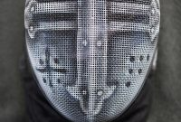 Airbrush Fencing Masks On Behance Strangewayes Stabbing Squad throughout sizing 799 X 1200