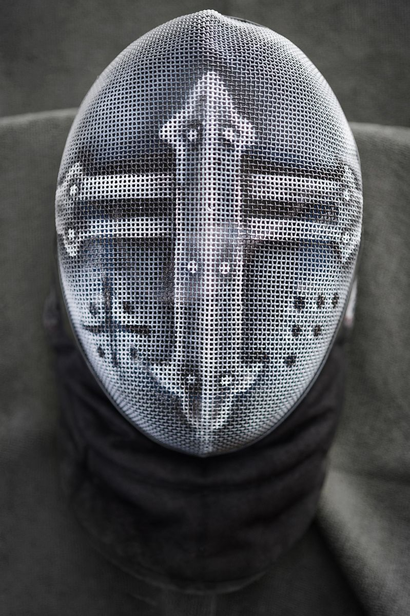 Airbrush Fencing Masks On Behance Strangewayes Stabbing Squad throughout sizing 799 X 1200
