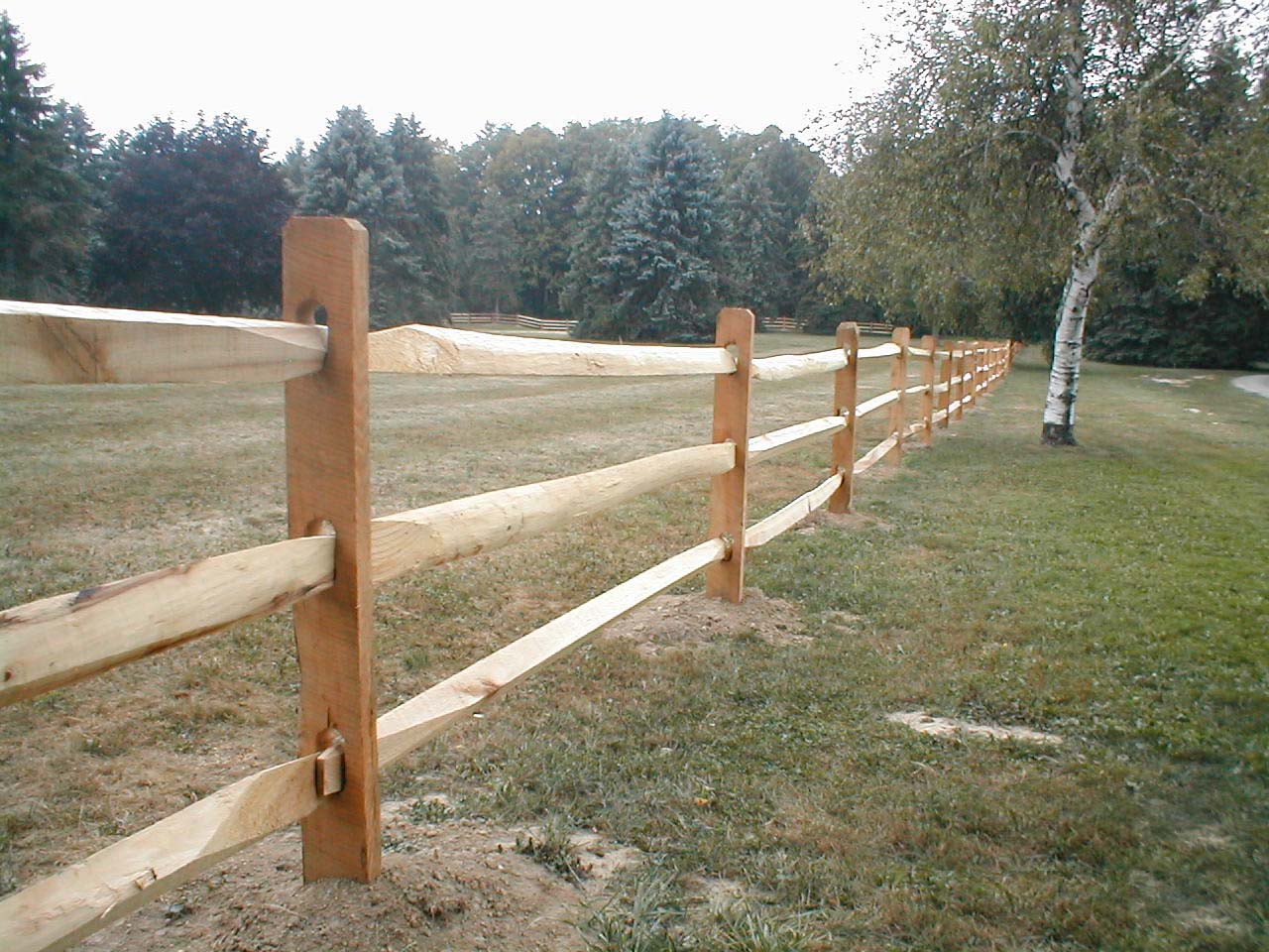Two Rail Vs Three Rail Fence Fence Ideas Site