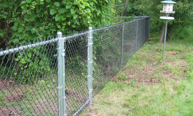 4 Ft Chain Link Fence Post Depth Fence Ideas Site