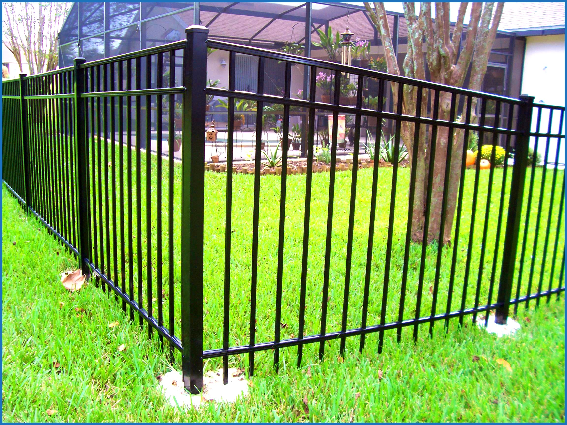 Awesome Ironcraft Fencing Fence Decorativedesignideasideadecor regarding sizing 2304 X 1728
