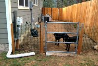 Backyard Dog Fence Ideas Zapatalab intended for measurements 1241 X 931