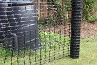 Black Plastic Barrier Mesh Fence 50m Rolls inside dimensions 1100 X 1100