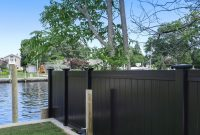 Black Pvc Vinyl Privacy Fencing Panels Illusions Vinyl Fence for size 1000 X 1000