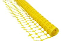 Boen 4 Ft X 100 Ft Yellow Construction Snowsafety Barrier Fence pertaining to dimensions 1000 X 1000