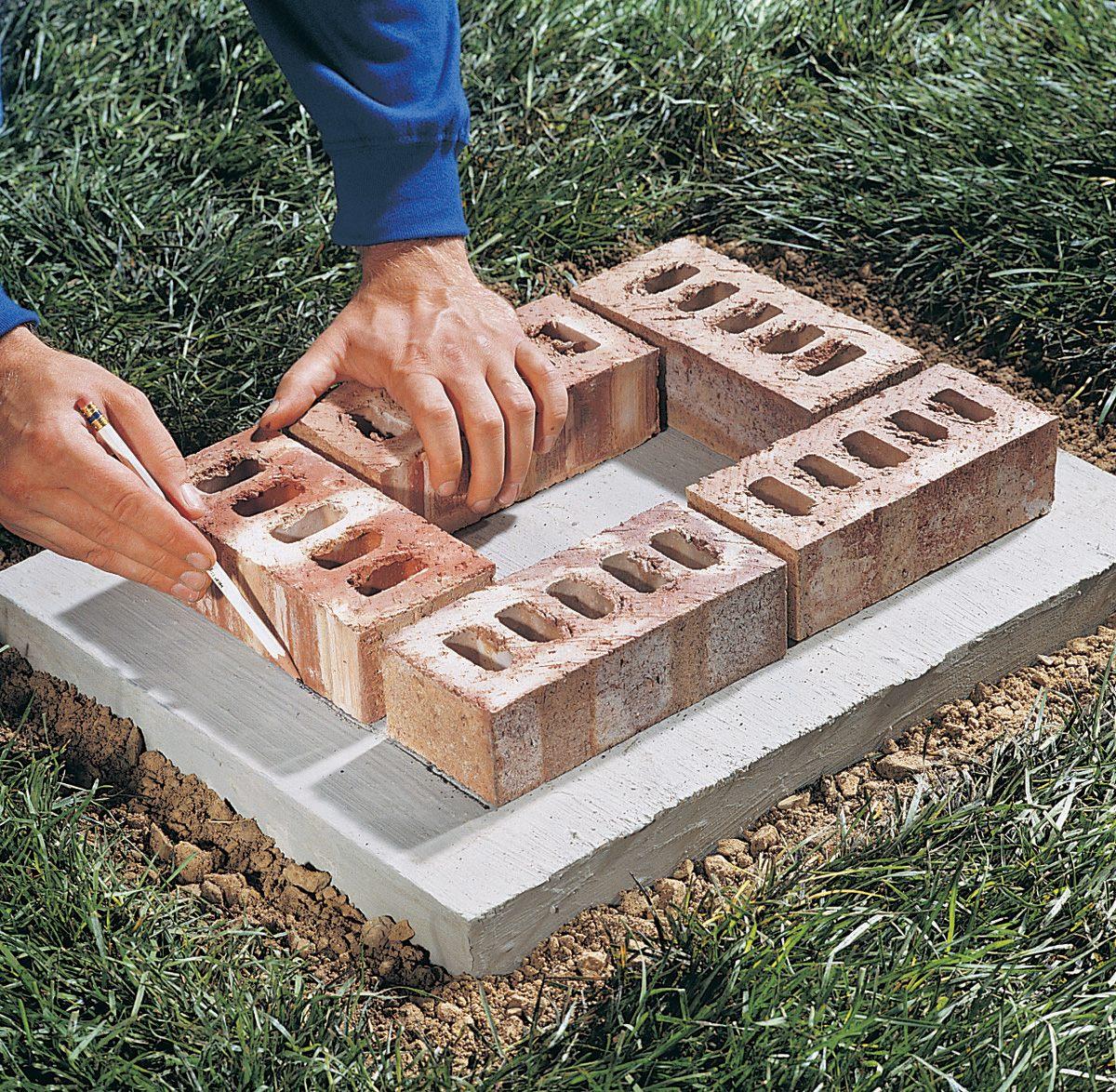 Build A Brick Pillar for dimensions 1200 X 1174