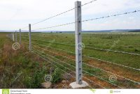 Cattle Fence On Farm Stock Image Image Of Nature Outside 39032049 within proportions 1300 X 957
