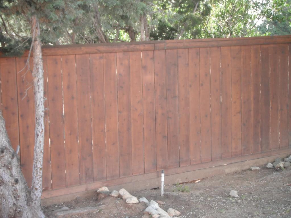 Cedar And Redwood Fencing Potter Fence Co Santa Clarita 661 254 regarding measurements 1024 X 768