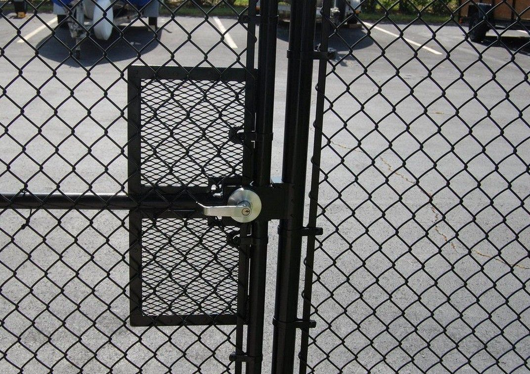 Chain Link Fence Gate Handle • Fence Ideas Site