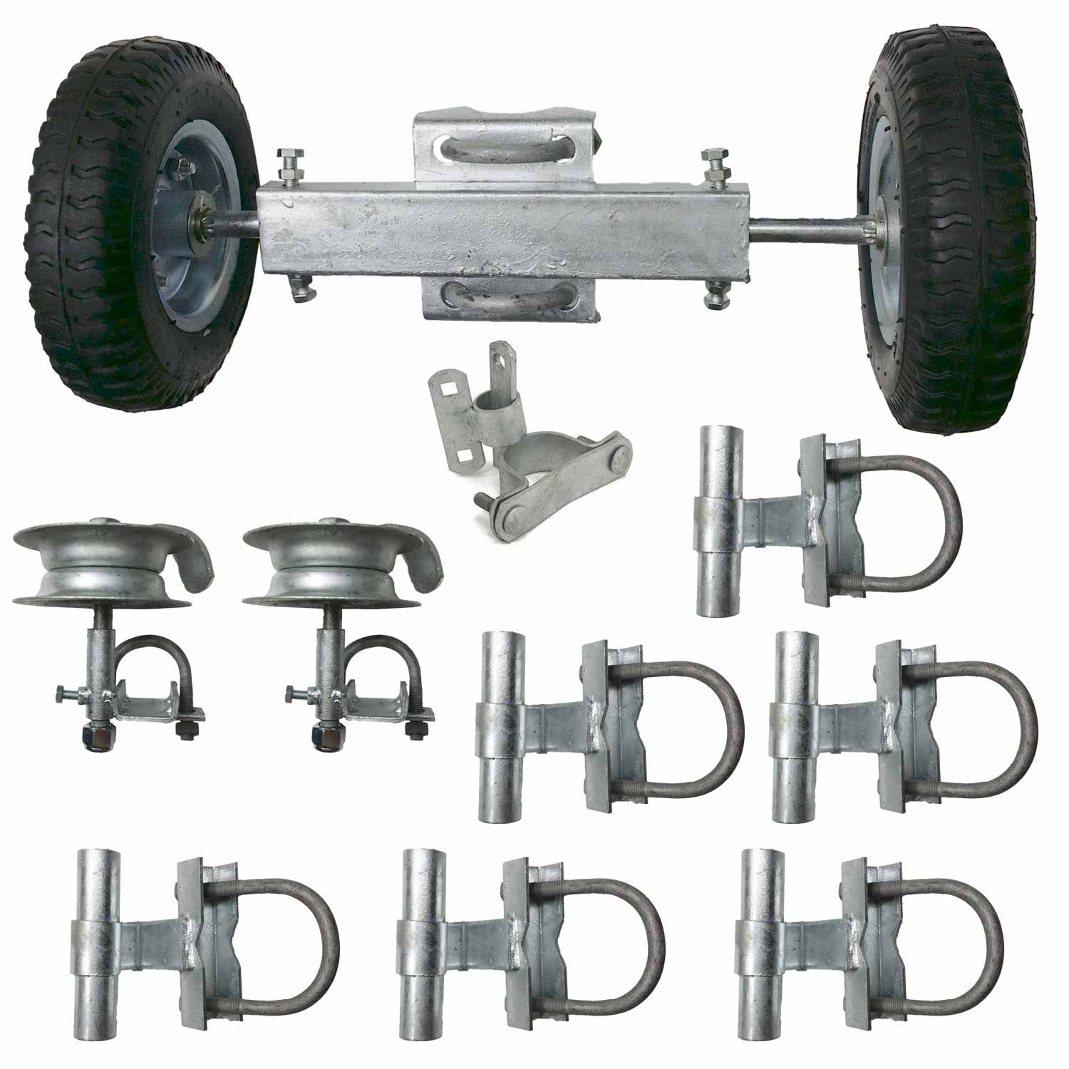 Chain Link Fence Sliding Gate Hardware Rolling Gate Wheels intended for measurements 1500 X 1500
