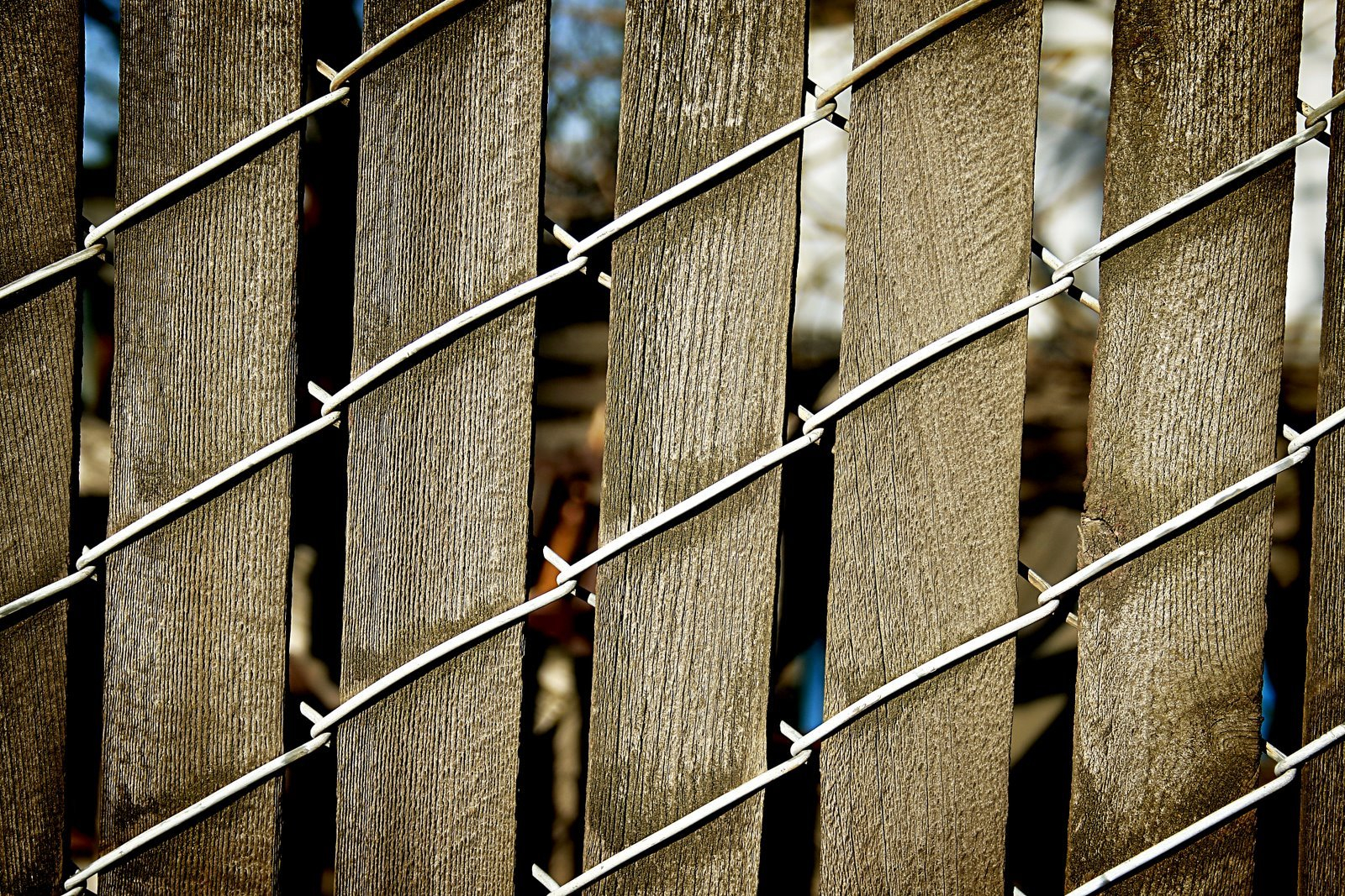 Chain Link Fence Wood Slats Famous Slats For Chain Link Fence Wood with proportions 1600 X 1067