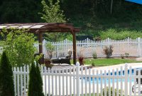 Classic Vinyl Picket Fence Superior Plastic Products in proportions 2550 X 2639