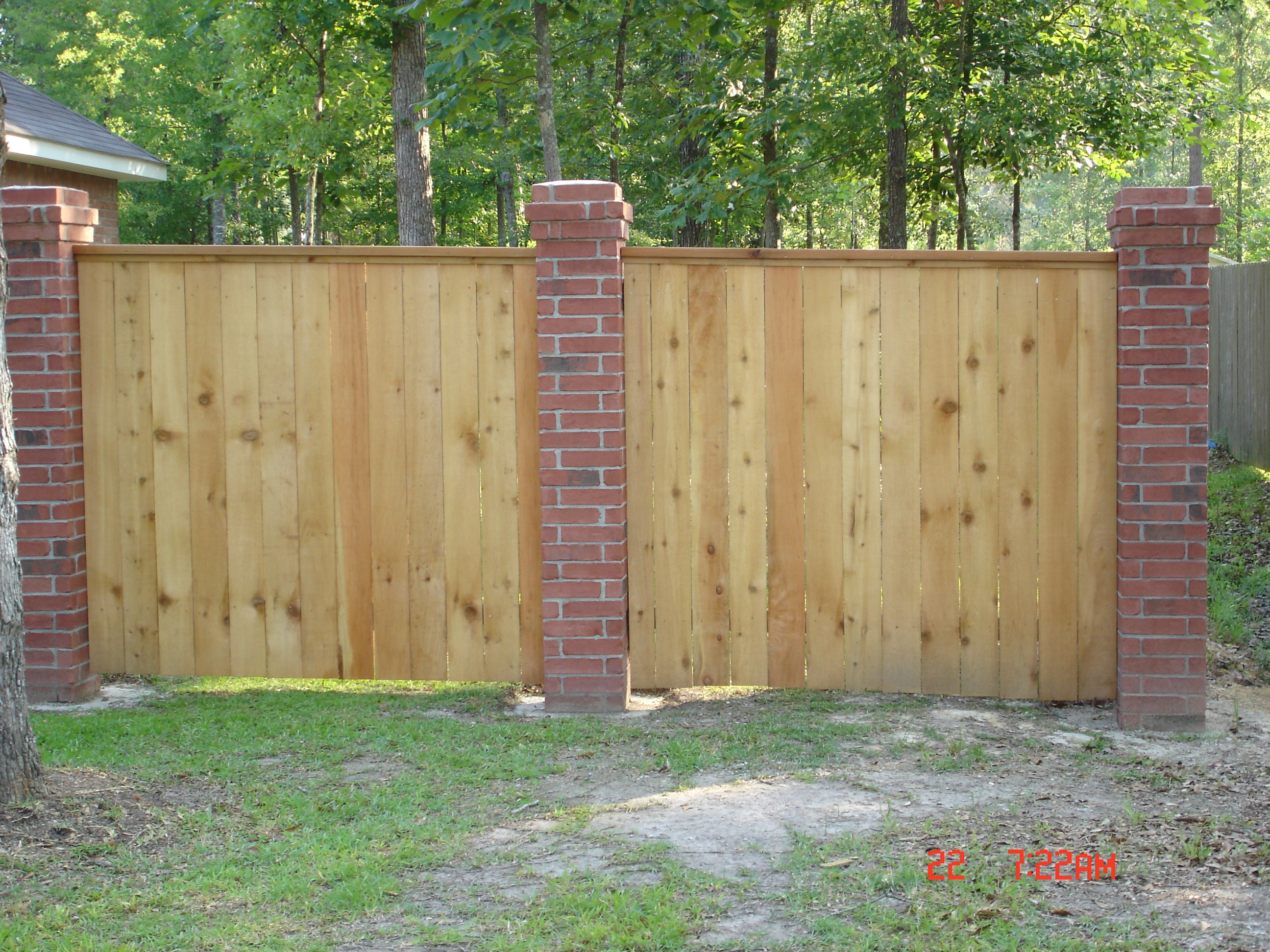 Comely Privacy Fences Wood 8 Ft Wood Fence Backyard Privacy Fence for sizing 2592 X 1944