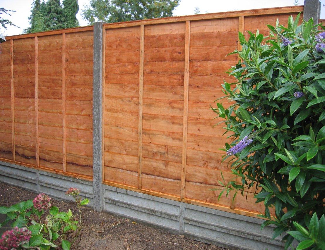 Homebase Concrete Fence Posts • Fence Ideas Site
