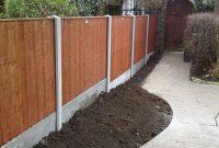 Concrete Fence Posts In Dunham regarding sizing 3264 X 2448