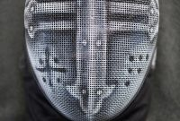 Crusader Fencing Mask Gwallchmai On Deviantart Grimm for proportions 729 X 1095