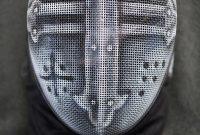Crusader Fencing Mask Gwallchmai On Deviantart Grimm for proportions 729 X 1095