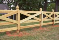 Custom Crossbuck Ranch Rail Horse Fence Mossy Oak Fence Great for dimensions 1200 X 900