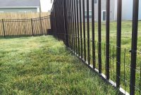 Diy Keep Small Dog In Yard With Welded Wire Aluminum Fence Addition intended for sizing 1600 X 1200