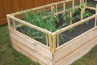 Diy Raised Bed Removable Pest Gate Vegetable Gardener pertaining to measurements 1000 X 1000
