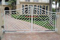 Driveway Outdoor Aluminum Wrought Iron Gate Wrought Iron Metal Gate inside measurements 1280 X 960