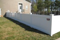 Fence Awesome 4 Ft Vinyl Fence Veranda 6 Ft H 8 Ft W White Vinyl with dimensions 1024 X 768
