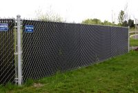 Fence Black Aluminum Fencing Chain Link Fence Privacy Screen Home within size 1200 X 900