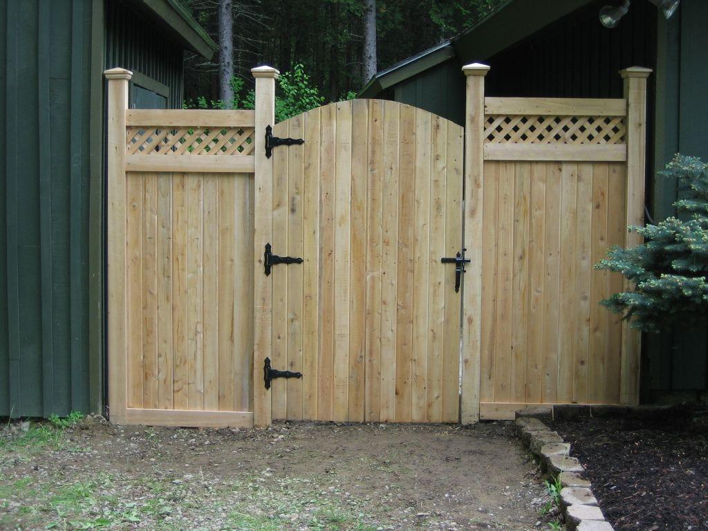 Exceptionnel Fence Door Design Fence Door Design Yard Fence Ideas Fence Designs With  Regard To Measurements 1024