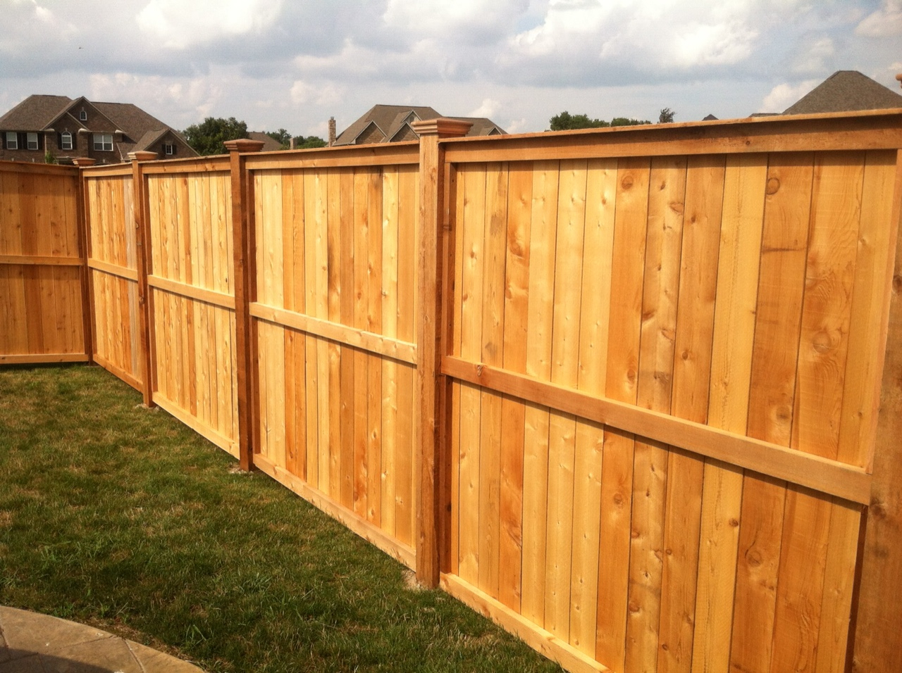 Fence Types Of Fences For Backyard Different Types Of Fences Vinyl regarding measurements 1280 X 956