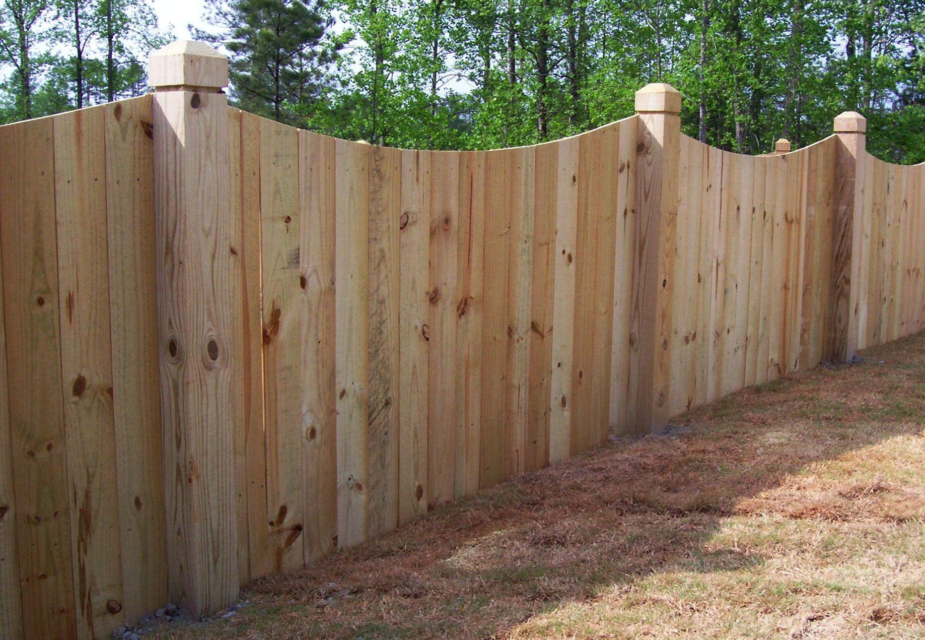 Fence Wood Privacy Fence Panels Vinyl Fence Panels Affordable for dimensions 1863 X 1290