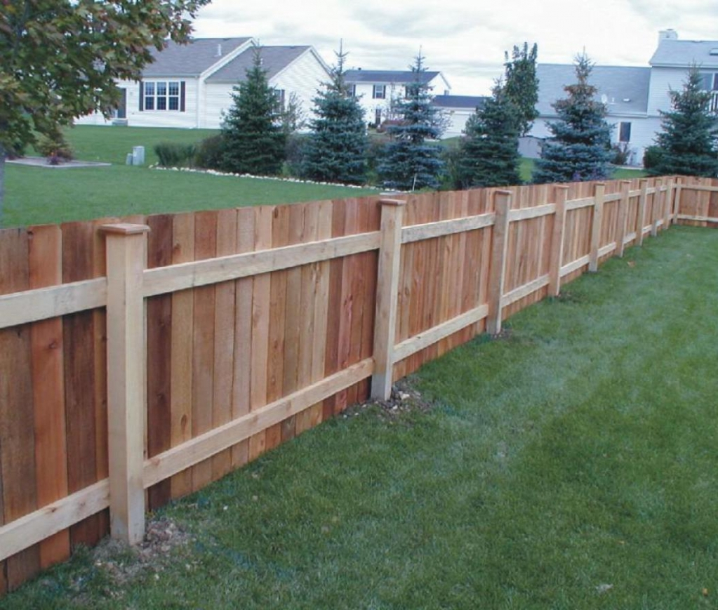 Fresh Ideas 4 Ft High Wood Fence Panels regarding measurements 1023 X 869