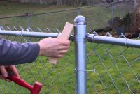 Gallery Chain Link Fence Post Fence And Gate Ideas Installing throughout sizing 1280 X 720