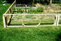 Garden Fence Ideas Fowler Woodworking Modular Chicken Wire For Gate pertaining to proportions 1264 X 948