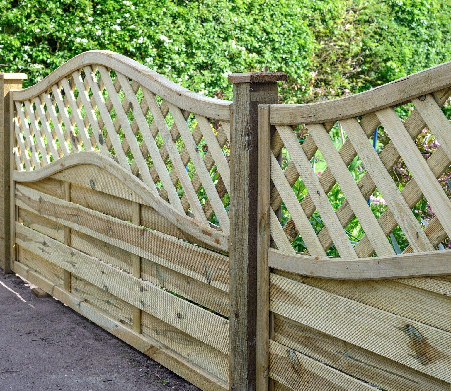 Grange Elite St Meloir 6ft X 3ft Fence Panel Gardensitecouk within dimensions 1539 X 1335
