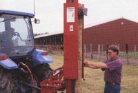 Hd 8 Hd 10 And Hd 12 Tractor And Skid Steer Mounted Fence Post Drivers in sizing 1233 X 1594