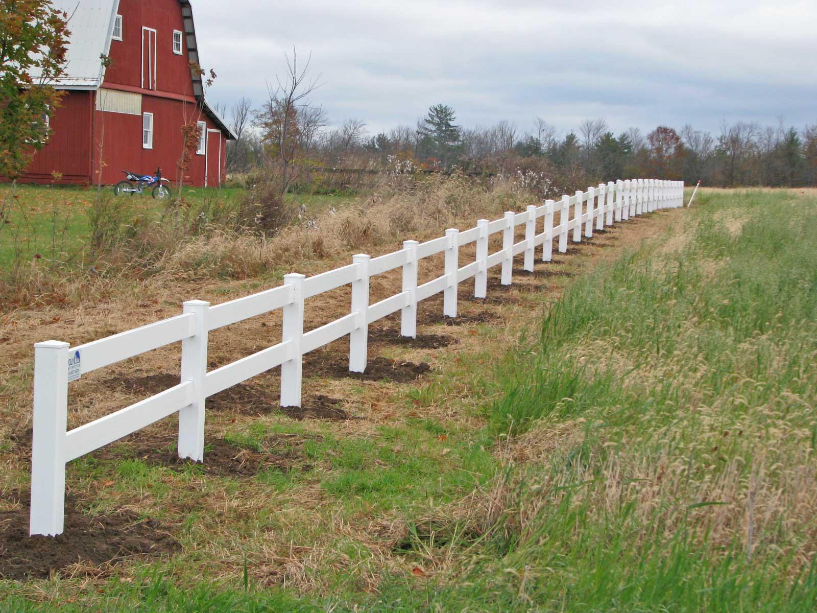 2 Rail Wood Horse Fence Ideas Site