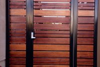 Image Of Modern Horizontal Fence Gate Garden Outside Ideas regarding proportions 900 X 1091