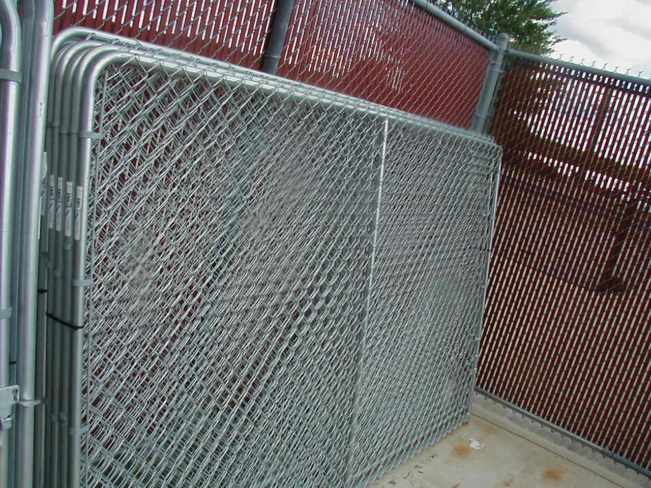 Pre Assembled Chain Link Fence Sections • Fence Ideas Site
