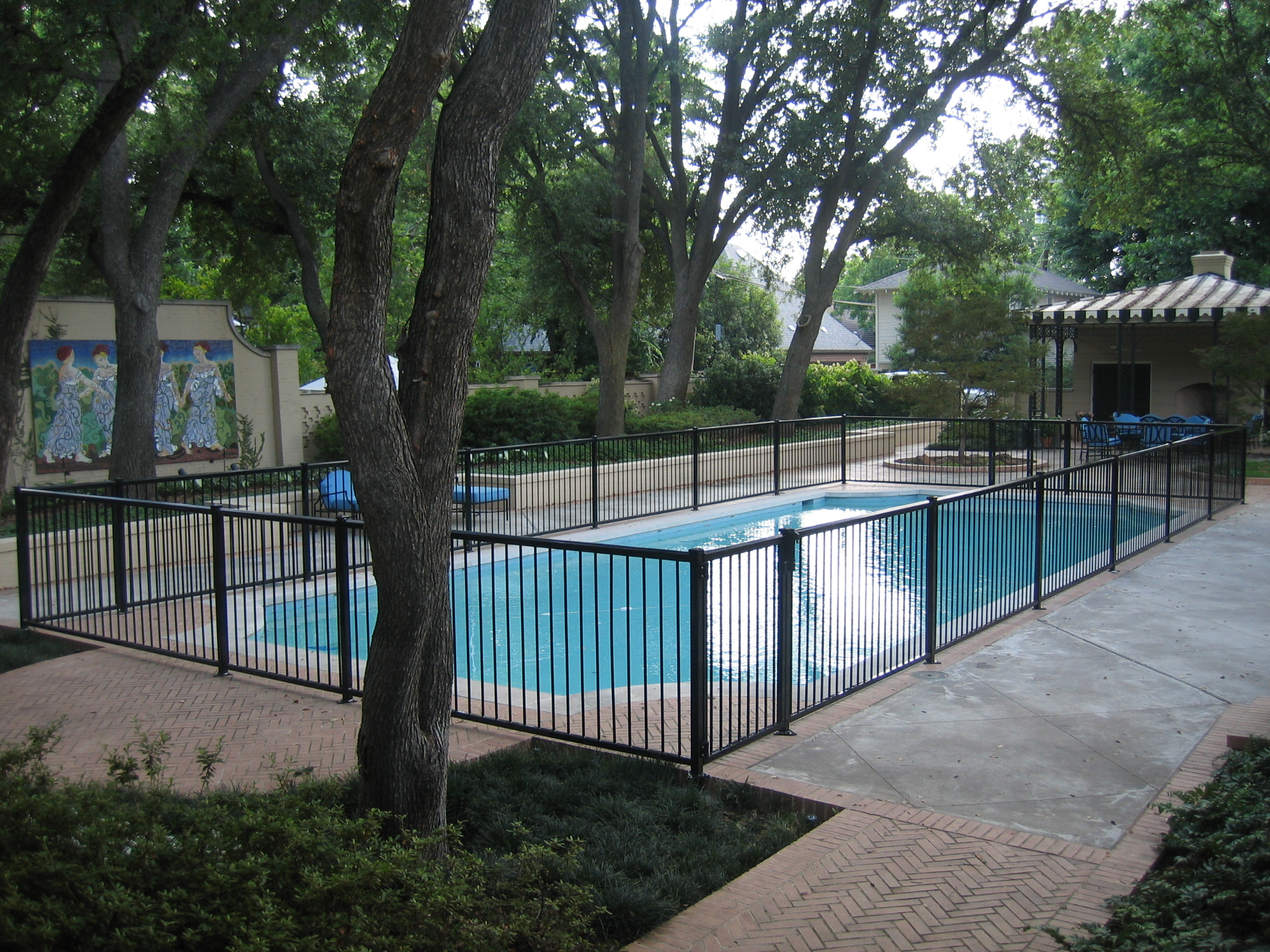 Fencing Around Pools Fence Ideas Site