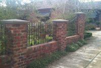 Iron Fencing With Brick Columns Google Search Iron Gates intended for proportions 2048 X 1536