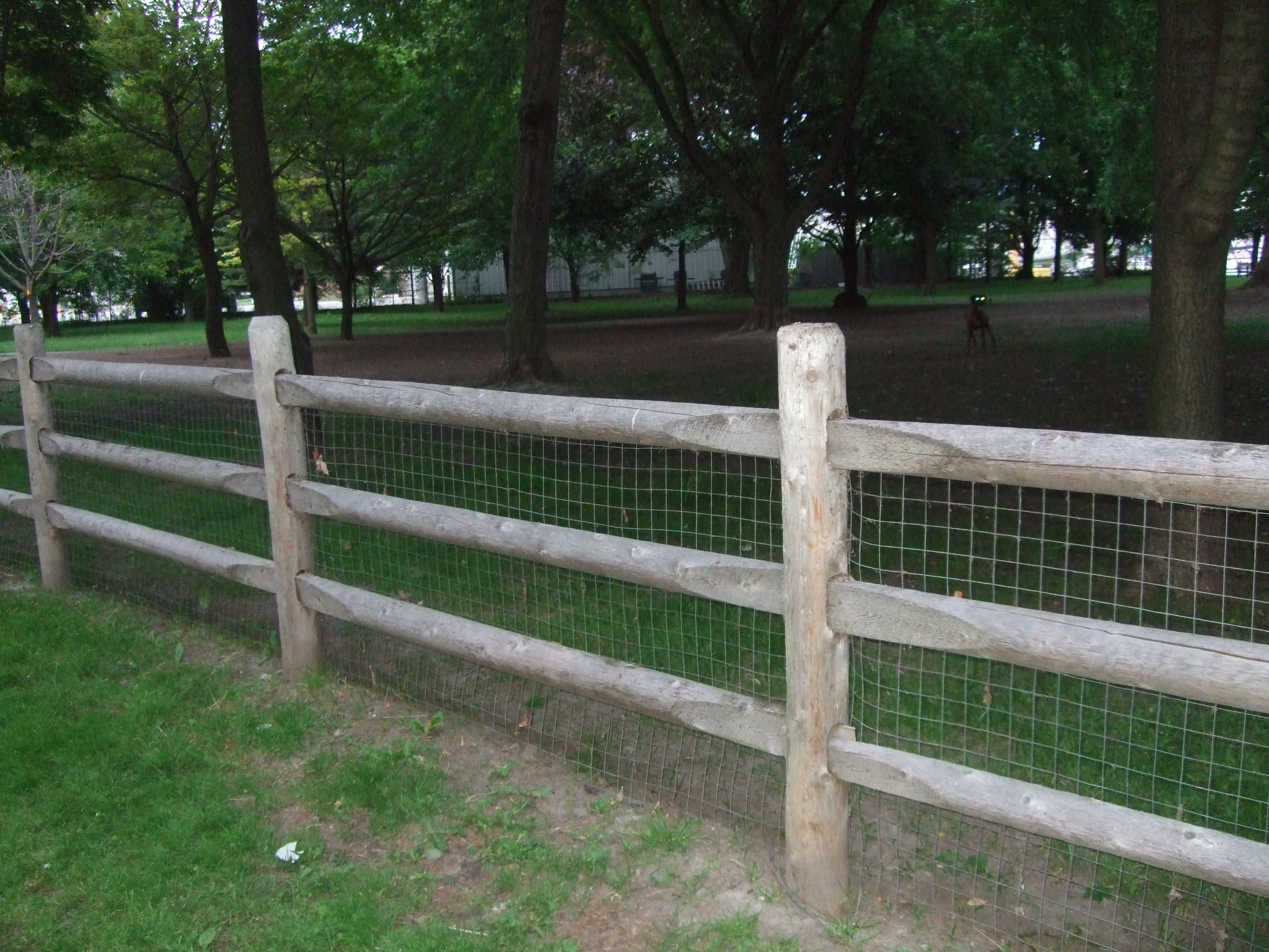 Keep The Dog In Rustic Cedar Post Rail Fence Supplied Lanark pertaining to size 3296 X 2472