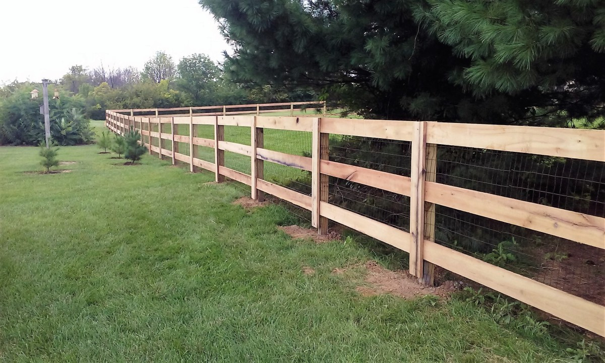 Kentucky Board The Fence Company Llc throughout measurements 1200 X 720